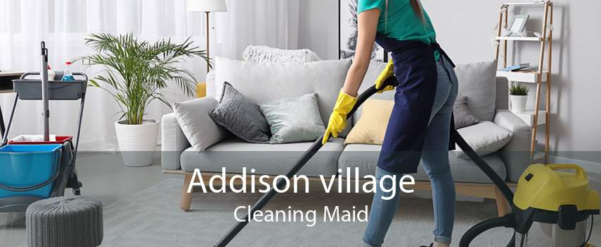 Addison village Cleaning Maid