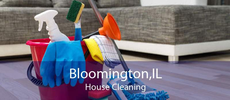 Bloomington,IL House Cleaning