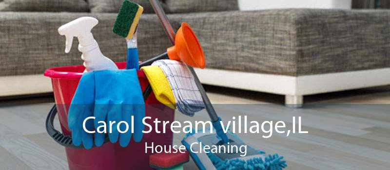 Carol Stream village,IL House Cleaning