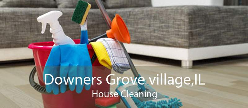 Downers Grove village,IL House Cleaning
