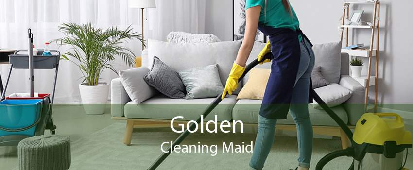 Golden Cleaning Maid