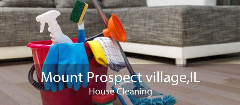 Mount Prospect village,IL House Cleaning