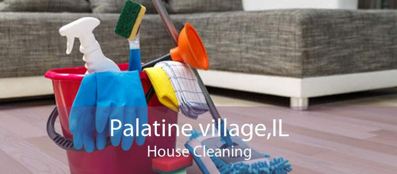 Palatine village,IL House Cleaning