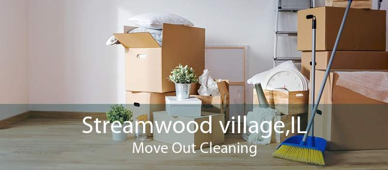 Streamwood village,IL Move Out Cleaning