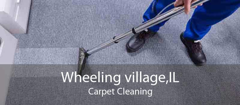 Wheeling village,IL Carpet Cleaning